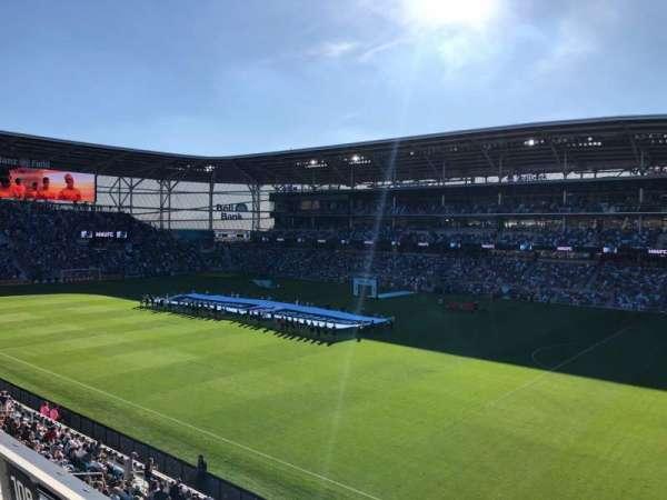 Allianz Field, secção: 109, fila: 3, lugar: 3