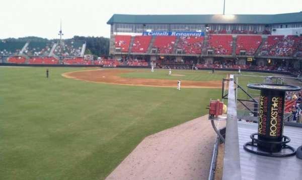 Five County Stadium, secção: GA