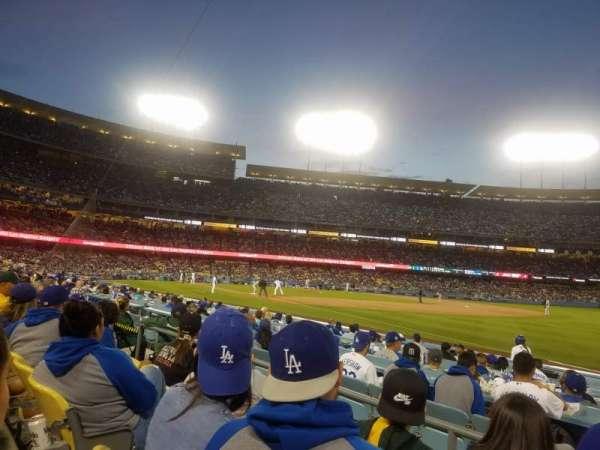 Dodger Stadium, secção: 40FD, fila: C, lugar: 5