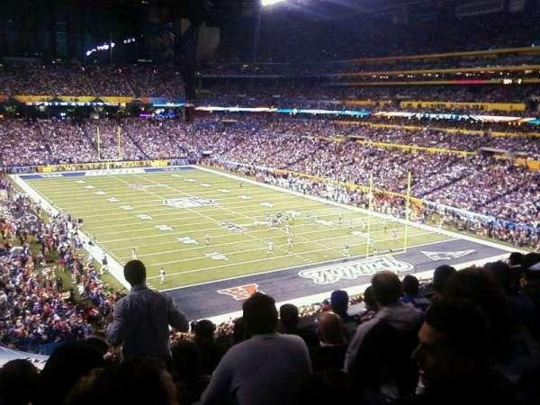 Lucas Oil Stadium, secção: 331