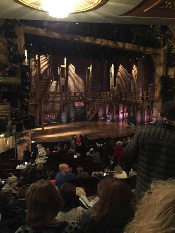Richard Rodgers Theatre, secção: Orchestra L, fila: Q, lugar: 25
