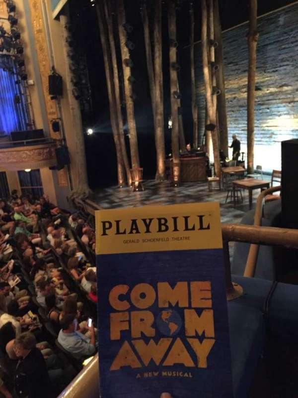Gerald Schoenfeld Theatre, secção: Box B