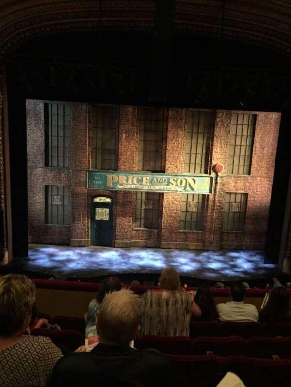Al Hirschfeld Theatre, secção: Mezzanine, fila: F, lugar: 106