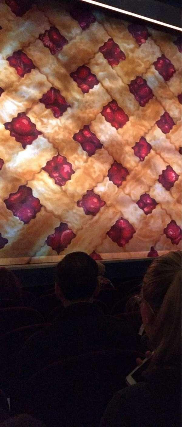 Brooks Atkinson Theatre, secção: Orchestra C, fila: C, lugar: 102