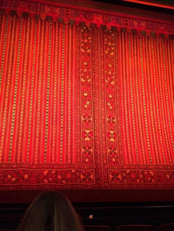 New Amsterdam Theatre, secção: Orchestra C, fila: E, lugar: 113