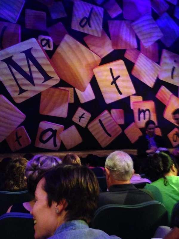 Shubert Theatre, secção: Orchestra C, fila: E, lugar: 104