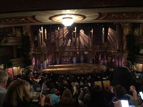 Richard Rodgers Theatre, secção: Orchestra C, fila: S, lugar: 110
