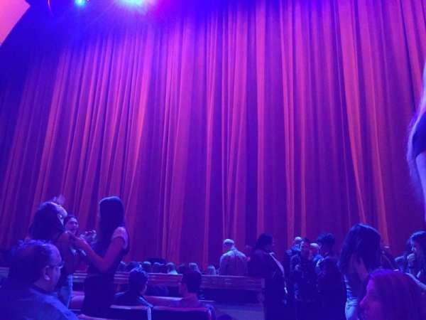 Radio City Music Hall, secção: Orchestra 3, fila: FF, lugar: 314
