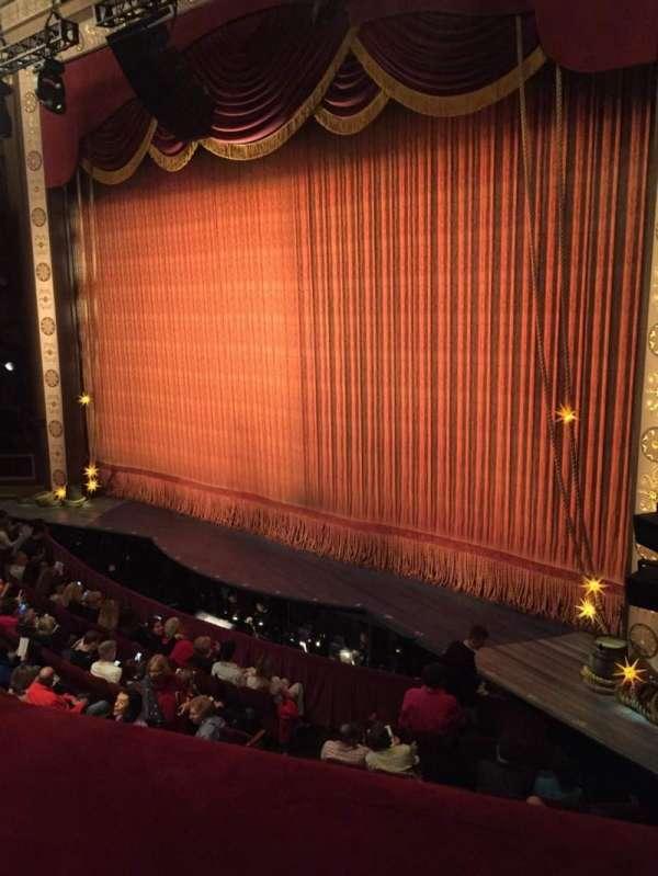Imperial Theatre, secção: Front Mezzanine 1, fila: A, lugar: 5