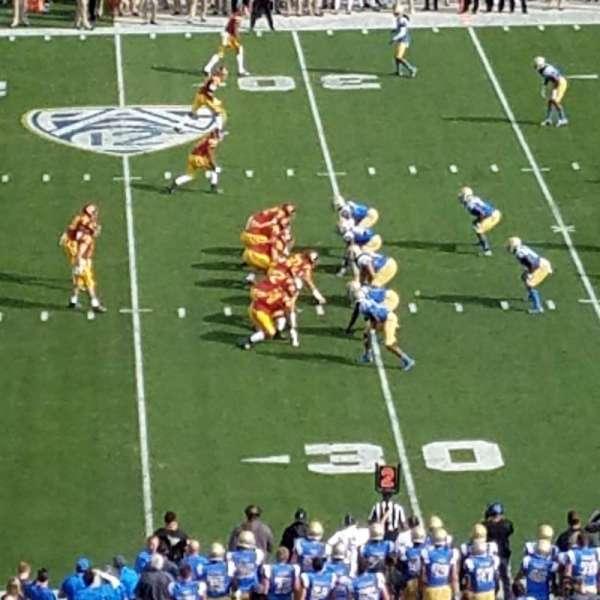 Rose Bowl, secção: Club D1201, fila: Loge, lugar: 4
