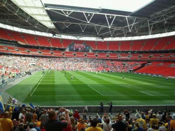 Wembley Stadium, secção: 136, fila: 16