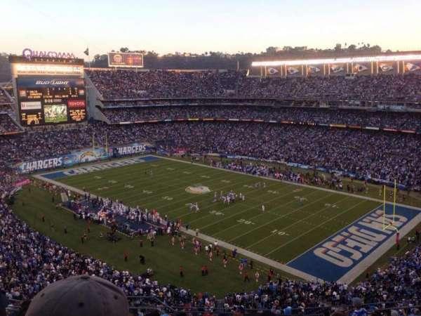 San Diego Stadium, secção: V14, fila: 14, lugar: 3