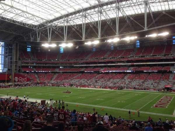 State Farm Stadium, secção: 125, fila: 39, lugar: 11
