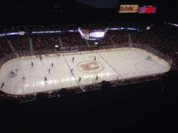 Scotiabank Saddledome, secção: PL7, fila: 4, lugar: 2