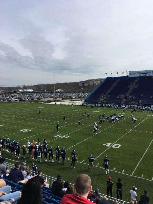 Meade Stadium, secção: 6, fila: K, lugar: 2