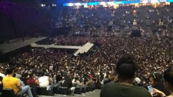 AccorHotels Arena, secção: O, fila: 3, lugar: 25