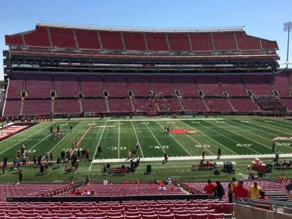 Cardinal Stadium, secção: 232, fila: S, lugar: 109