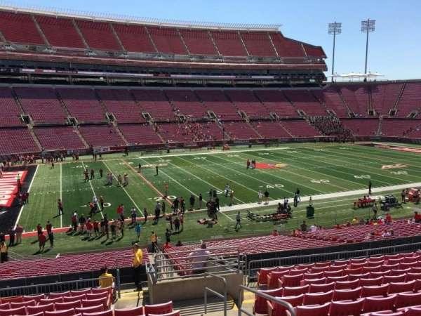 Cardinal Stadium, secção: 234, fila: S, lugar: 102