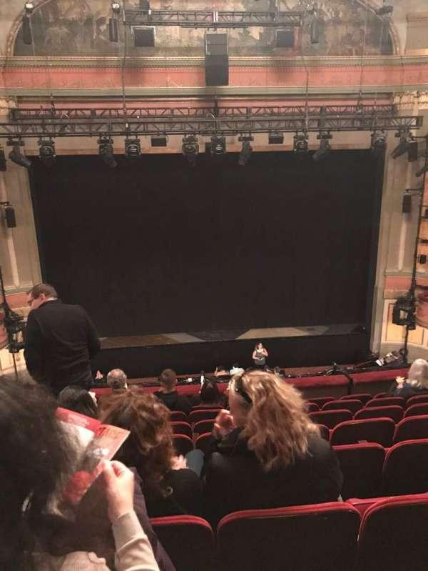Neil Simon Theatre, secção: Front Mezzanine C, fila: H, lugar: 109