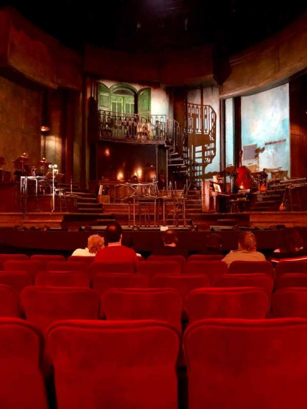 Walter Kerr Theatre, secção: Orchestra C, fila: J, lugar: 108