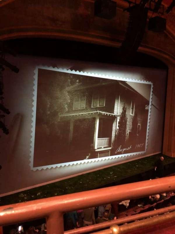 American Airlines Theatre, secção: Front Mezzanine, fila: A, lugar: 135