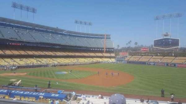 Dodger Stadium, secção: 142LG, fila: c, lugar: 3