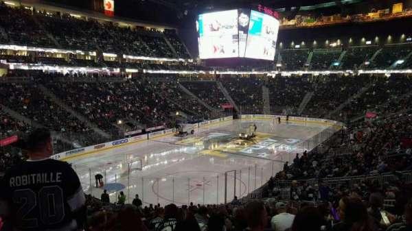 T-Mobile Arena, secção: 12, fila: 15, lugar: 16
