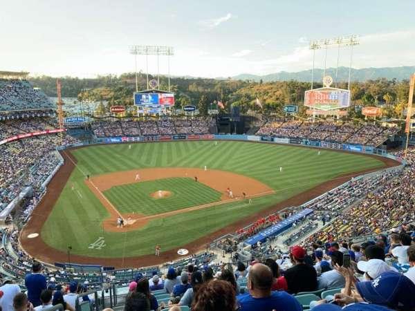 Dodger Stadium, secção: 6RS, fila: O, lugar: 1