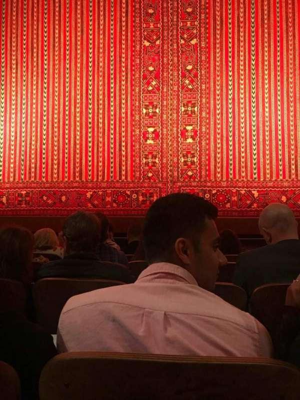 New Amsterdam Theatre, secção: Orchestra C, fila: E, lugar: 107