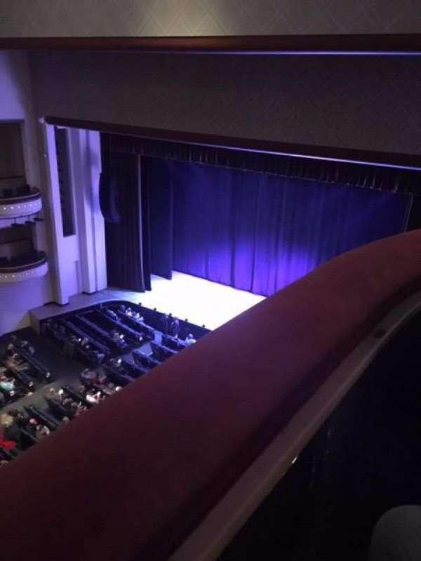 Belk Theater, secção: Balcony, fila: RBX, lugar: 3