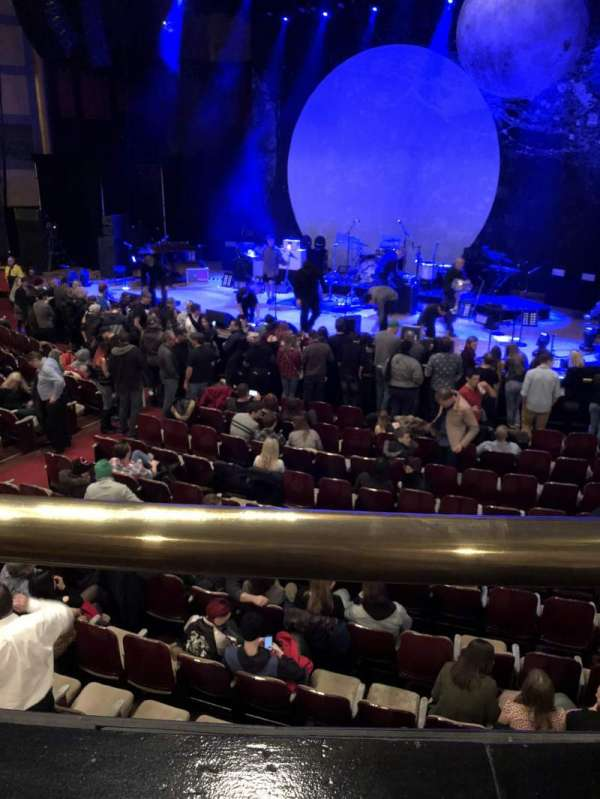 Massey Hall, secção: RCB, fila: A, lugar: 83