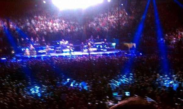 Madison Square Garden, secção: 101, fila: 15, lugar: 21