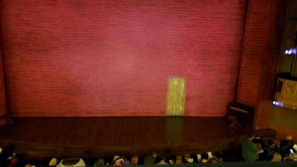 Shubert Theatre, secção: Mezzanine C, fila: A, lugar: 108