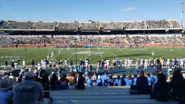 Paulson Stadium, secção: D, fila: 19, lugar: 14