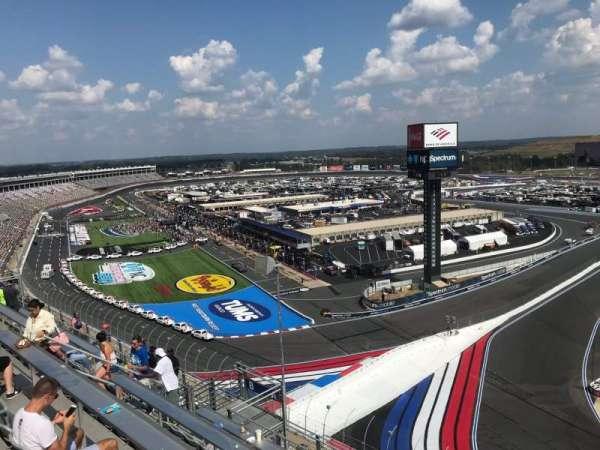 Charlotte Motor Speedway, secção: Ford UT A, fila: 54, lugar: 9