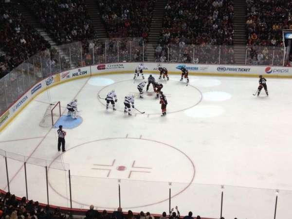 Honda Center, secção: 435, fila: A, lugar: 15