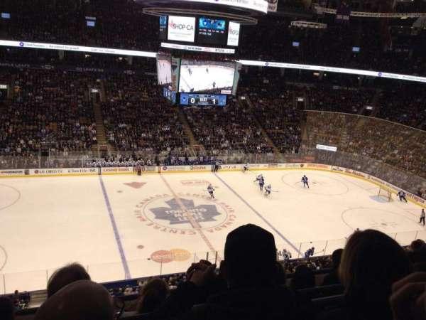 Scotiabank Arena, secção: 310, fila: 4