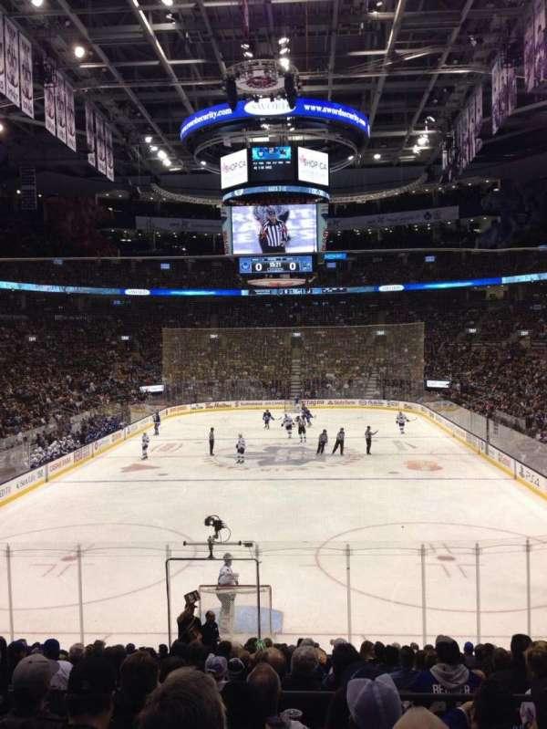 Scotiabank Arena, secção: 113, fila: 21, lugar: 15