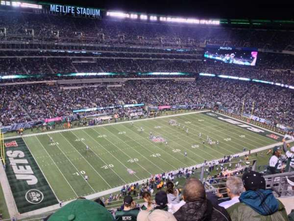 MetLife Stadium, secção: 343, fila: 12, lugar: 10