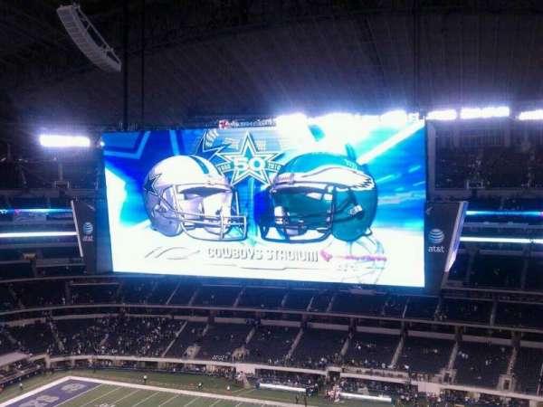 AT&T Stadium, secção: 410, fila: 5, lugar: 5
