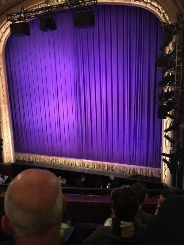 Lyceum Theatre (Broadway), secção: Mezzanine R, fila: D, lugar: 8