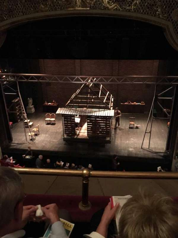 Cort Theatre, secção: Balcony C, fila: B, lugar: 112