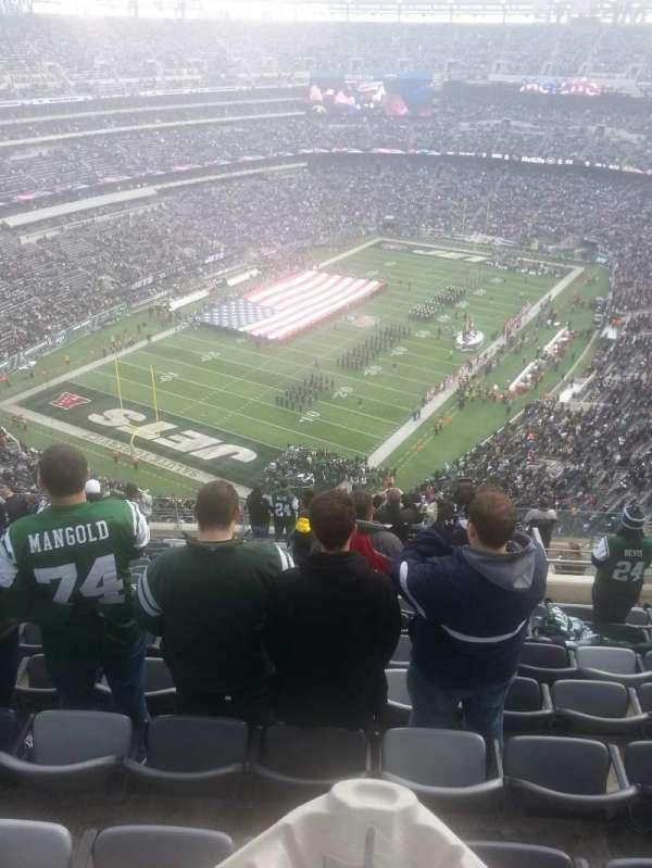 Metlife Stadium, secção: 347, fila: 20, lugar: 6