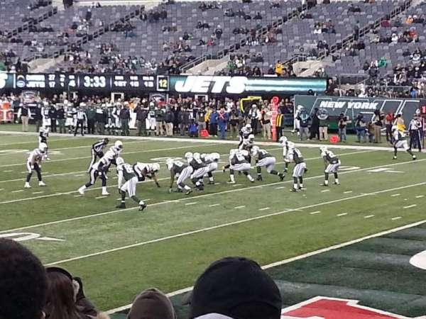 Metlife Stadium, secção: 133, fila: 13, lugar: 1