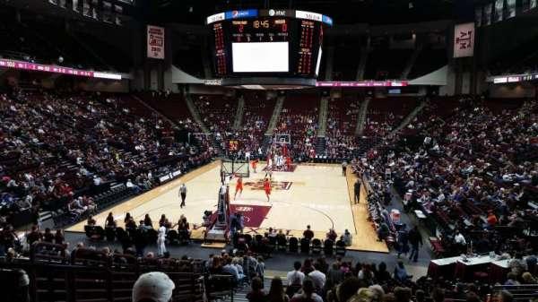 Reed Arena, secção: 127