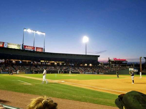Dell Diamond, secção: 125, fila: 2, lugar: 5
