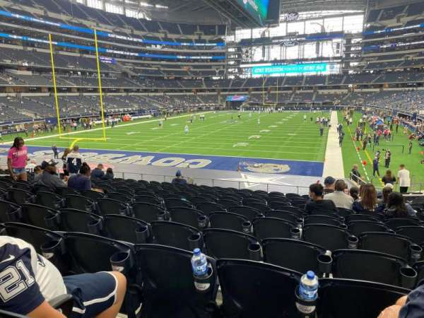 AT&T Stadium, secção: 121, fila: 20, lugar: 13