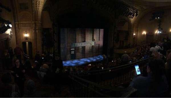 Al Hirschfeld Theatre, secção: Mezzanine L, fila: J, lugar: 19