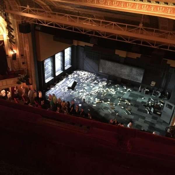 Walter Kerr Theatre, secção: Balcony, fila: B, lugar: 12