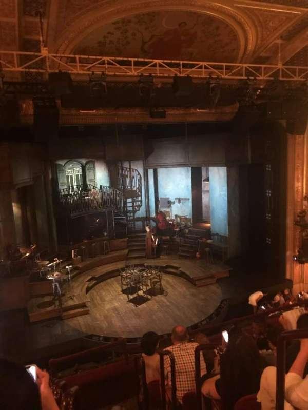 Walter Kerr Theatre, secção: Mezzanine L, fila: F, lugar: 1